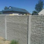 забор бетон
