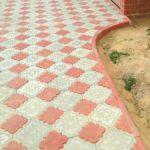 Бетонная плитка клевер