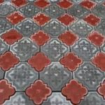 Бетонная плитка лотос